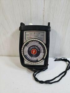 Vintage Gossen Luna-Pro F Film Light Meter with Case