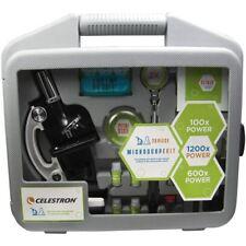 Celestron Microscope Kit 28-piece Briefcase Cm44120