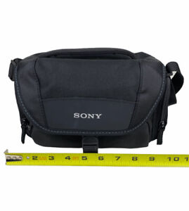 Sony LCS-U21 Soft Carrying Camera Case With Shoulder Strap
