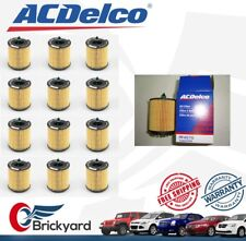 LOT OF 12 EACHES ORIGINAL ACDELCO PF457GF ENGINE OIL FILTER