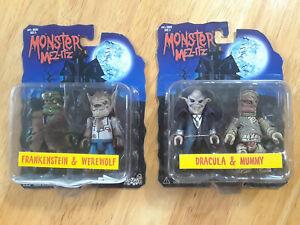 Lot Of 2 Monster Mez-Itz Figures (2) Both Series 1 Sets  H128