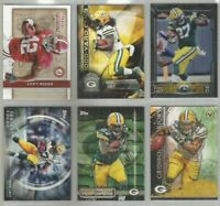 Eddie Lacy Green Bay Packers Alabama 6 card 2015 insert lot-all different
