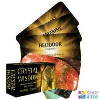 CRYSTAL WISDOM INSPIRATIONAL TAROT DECK CARDS ESOTERIC TELLING US GAMES SYSTEMS