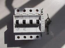 Siemens 5SX26 Circuit Breaker w/ 5SX9 1  VDE 0660 *FREE SHIPPING*