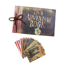 Our Adventure Book Memory DIY Anniversary Scrapbook Photo Album 80 Pages