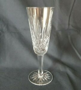 Waterford Irish Crystal Champagne Glass Flute - Lismore - 18.5 cm 7 1/4 in High