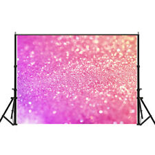 Photo Pink Sequins Background Dreamlike Photography Studio Party Decor Backdrop