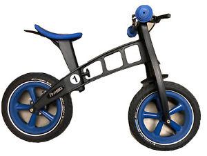 FirstBIKE Toddlers Kids Balance Training Bike w/ Brake - Bell - Blue