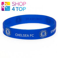 CHELSEA OFFICIAL FOOTBALL SOCCER CLUB TEAM FC SILICONE RUBBER WRISTBAND LICENSED