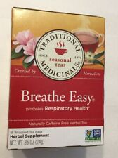 Traditional Medicinals Herbal Tea Breathe Easy Caffeine Free - 16 Ct - EACH
