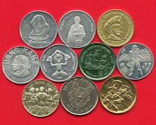 Group Of 10 Tokens Mardi Gras & Other All Different 9 Aluminum 1 Metal