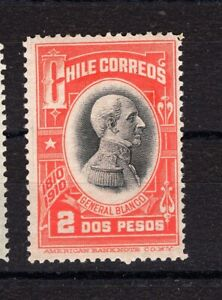 CHILE 1910 Independence Centenary Sc.95 General Blanco 2p MH