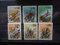 G1468  STAMPS  SWA 1978  FLOWERS  SET  OVERPRINT  MNH