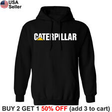 Caterpillar Hoodie Sweatshirt Sweater Shirt CAT Tractor Construction Equipment