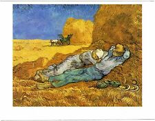VAN GOGH Post Card: The Midday Nap or The Siesta, 1889-90 - New vintage postcard
