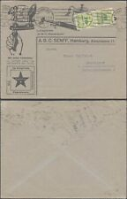 Germany Infla Nov 20th 1923 - Cover Hamburg to Suttgart - Esperanto DX135