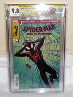 Spider-Man: Enter the Spider-Verse #1 CGC SS 9.8 Signature SHAMEIK MOORE Var 💎