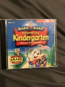 The Learning Company Reader Rabbit S Personalized Kindergarten...