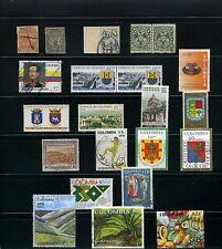 SANTANDER,-PAMPLONA,- OCANA,- B/MANGA, SAN GIL,CUCUTA  >COLOMBIA     {22} stamps