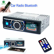 Bluetooth Auto Haupteinheit Radio Stereo Player MP3/USB/SD/AUX/FM/iPod In-Dash Non CD