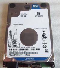 1TB WD10SDZW-11UMGS0 WD Blue USB 3.0 Hard Drive F/W 01.01A01 HBNT2BN # U010 HDD
