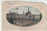 Ansichtskarte Leipzig - Blick auf den Augustusplatz - Prägekarte - 1915