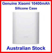 Genuine Soft Silicone Case White for Xiaomi 10400mAh Power Bank