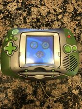 Leap Frog Leapster Handheld Learning Game System 20200 Green / Silver Tested