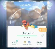Pokémon Go Archen level 30!! !  Gen5 new Pokemon!~ same day delivery~
