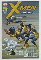 X-MEN: BLUE #1 MARVEL comics NM 2017 JACK KIRBY VARIANT 100TH anniversary LAST 1