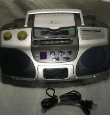 Aiwa CSD-ES227 AM/FM Radio CD Player Cassette-Recorder Stereo Boombox Tested