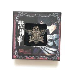 Black Butler Kuroshitsuji cosplay Anime Badge Pin Brooch