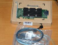 NEW PERC H330 PCI RAID 12G DELL POWEREDGE SERVER + 2pieces 8643 to 4SATA