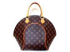 Authentic LOUIS VUITTON Monogram Ellipse MM M51126 Handbag MI1927 w/ Dust Bag