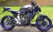 Yamaha MT-07 Exhaust. Full system by GPR Exhausts with Furore Nero. XSR700