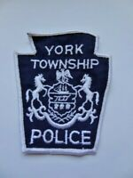 Vintage York Township, Pennsylvania Police Keystone Cheese Obsolete Patch Used