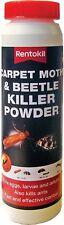 Rentokil Carpet Moth Beetle Killer Powder Kills Ants Fast Effective Control UK