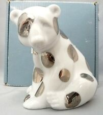 "LLADRO ""POLAR BEAR SEATED"" 1007027 3.25"" X 3.25"" 2007-2011 J. HUERTA NIB RE DECO"