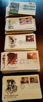 Us stamps first day cover catchet 1960 to present amount 6 all different, all in