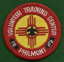 VINTAGE BOY SCOUT - PHILMONT VOLUNTEER TRAINING CENTER PATCH