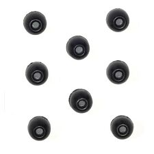 8 MEDIUM Black Foam Sleeve Ear tips SHURE EABKF1-10M PA910M Insert Ear seal plug