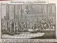 Louis 16 et la Constitution 1791 Assemblée Nationale Tuileries Révolution France