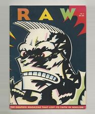 1981 Françoise Mouly + Art Spiegelman RAW 3 Comix MAUS Gary PANTER Charles BURNS