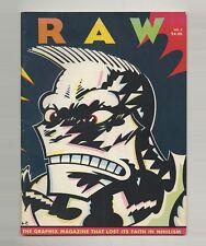 1981 Françoise Mouly + Art Spiegelman RAW 3 Comix MAUS Gary PANTER Charles BURNS