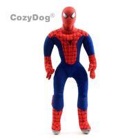 18'' Spiderman Hero Plush Toy Stuffed Soft Doll 45cm Figure Kids Birthday Gift