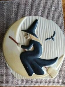RARE ABINGDON POTTERY WITCH COOKIE JAR #692 REALLY COOL PIECE!