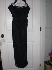 Beautiful Liz Claiborne Black Dress Size 8 NEW !