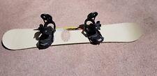 Burton Custom Snowboard Size 162 with Cartel Bindings