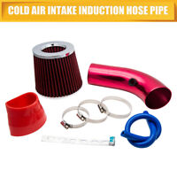 "Universal Cold Air Intake  Induction Hose Pipe Kit System Filter 2.5""-3.0"""