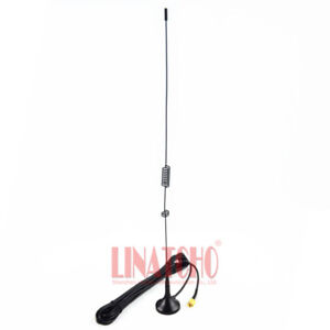 new Dual band UT-106 magnetic base SMA Male mobile antenna for Ham radio VHF UHF